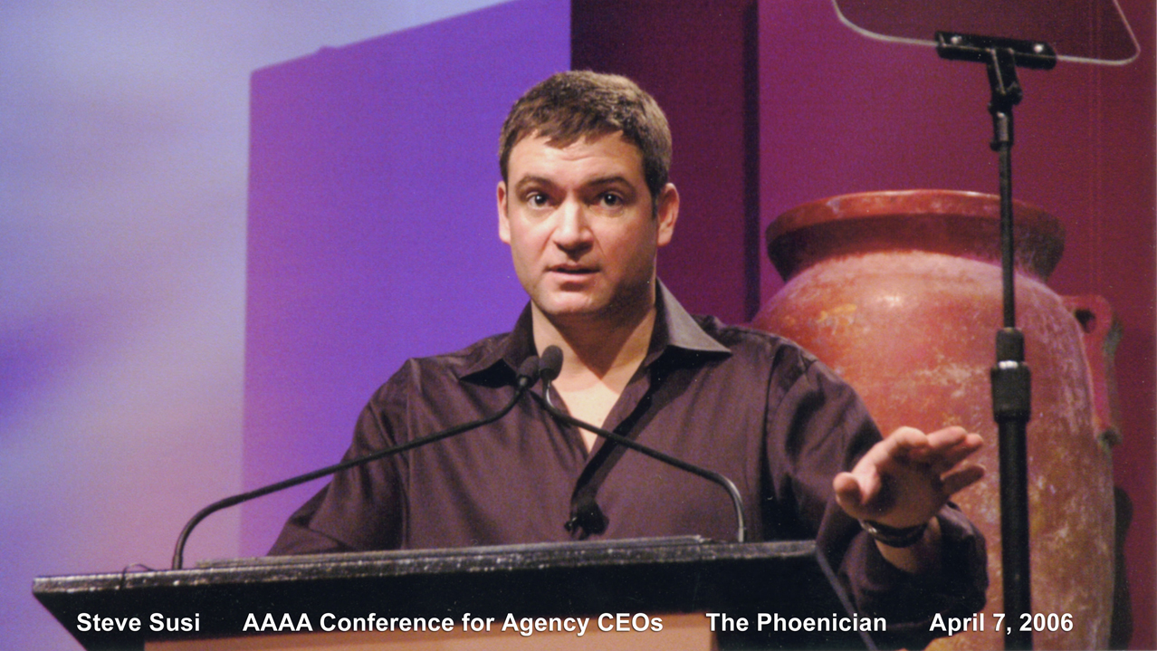 Opening address, AAAA Conference for CEOs