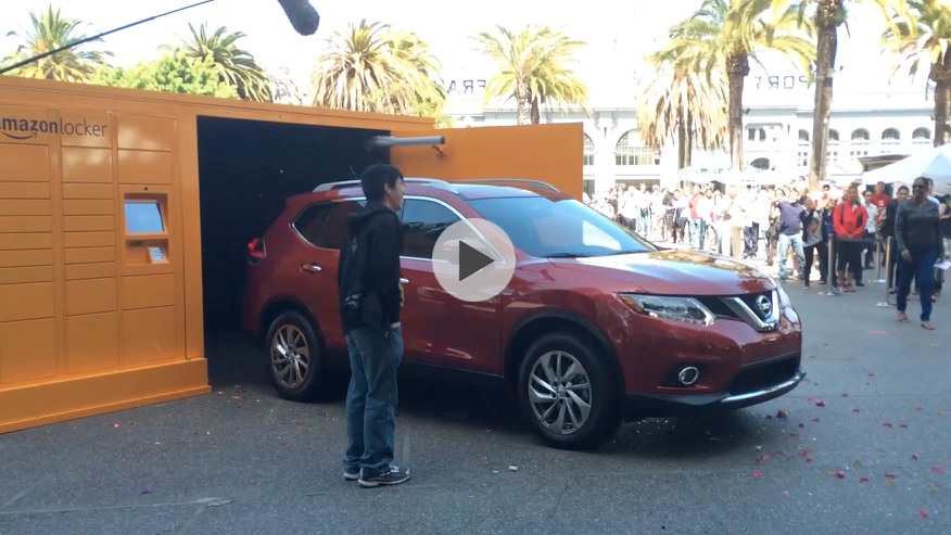 Amazon/Nissan Rogue #GiantLocker