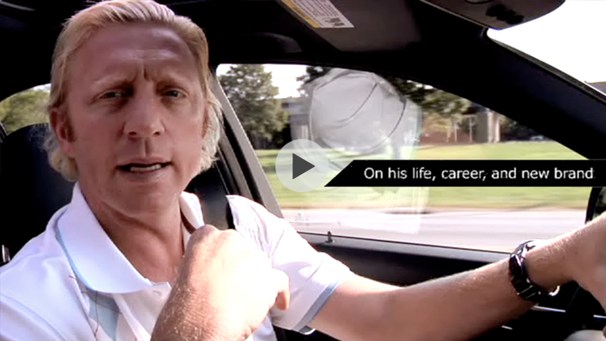 Ride with Boris Becker from the US Open to MBFW Spring/Summer 08