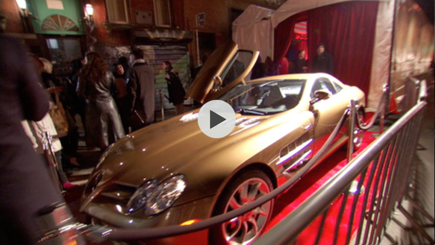 Mercedes-Benz Spring/Summer 2007 red carpet kick-off party