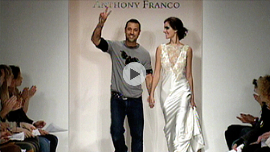 Anthony Franco backstage and runway, MBFW LA Spring/Summer 07